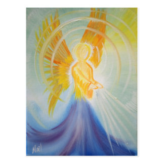 Angel Aura Products Postcard