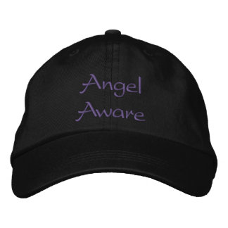 Angel Aware Embroidered Hat
