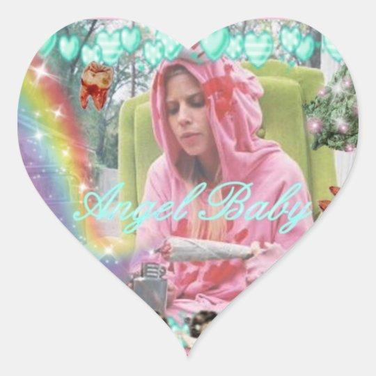 """Angel Baby Yolandi Visser"" Sticker sheet"