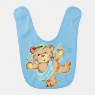 Angel Bear Bib
