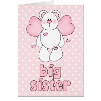 Angel Bear Big Sister Card