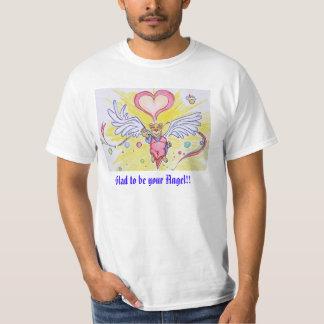 Angel Bear: Men-T-shirt T-Shirt