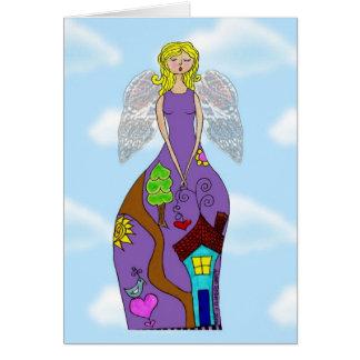 Angel Becky Card