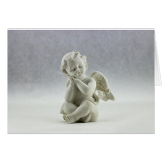 Angel bereavement card