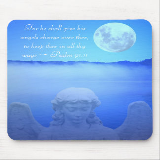 Angel Bible Quote Mousepad
