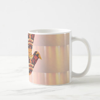 ANGEL bird TEMPLATE Colored easy to ADD TEXT and I Coffee Mug