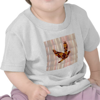 ANGEL bird TEMPLATE Colored easy to ADD TEXT and I Tee Shirts