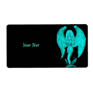 Angel , Black and Green design