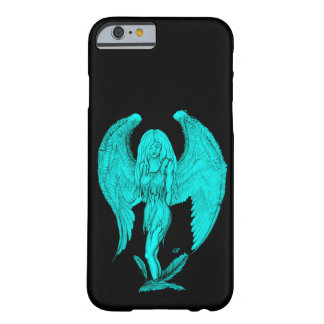 Angel , Black and Green design Barely There iPhone 6 Case