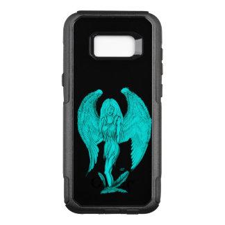Angel , Black and Green design OtterBox Commuter Samsung Galaxy S8+ Case