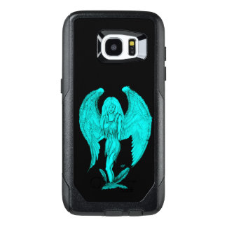 Angel , Black and Green design OtterBox Samsung Galaxy S7 Edge Case