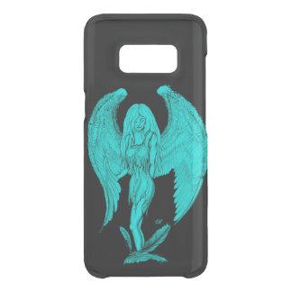 Angel , Black and Green design Uncommon Samsung Galaxy S8 Case