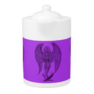 Angel Black and purple design