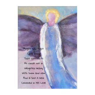 Angel Blessings Acrylic Print
