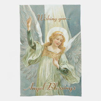 Angel Blessings Kitchen Towel