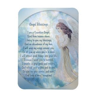 Angel Blessings Poem Magnet