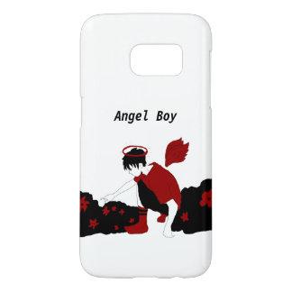 Angel Boy Phone Case (Galaxy 6)