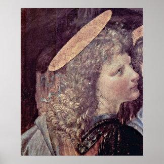 Angel by Leonardo di ser Piero da Vinci Poster