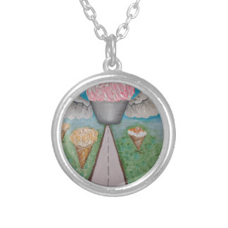 angel cake.JPG Silver Plated Necklace