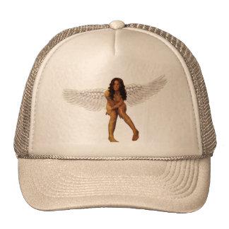 Angel cap trucker hat