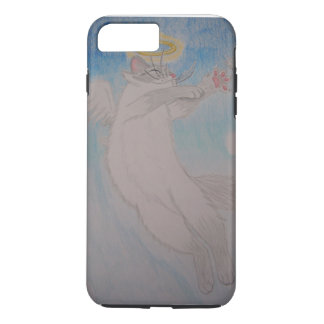 Angel Cat iPhone 7 Plus Case