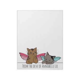 Angel Cats Notepad