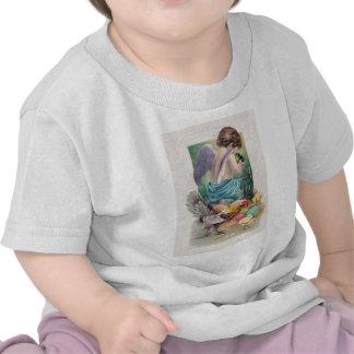 Angel Cherub Easter Egg Chick Rooster Tshirts