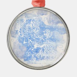 Angel&Cherub Metal Ornament