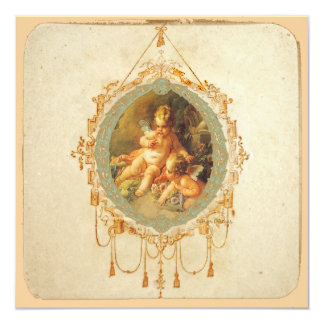 Angel Cherubs Invitation Save the Date Cards
