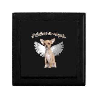 Angel Chihuahua Gift Box