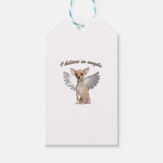 Angel Chihuahua Gift Tags