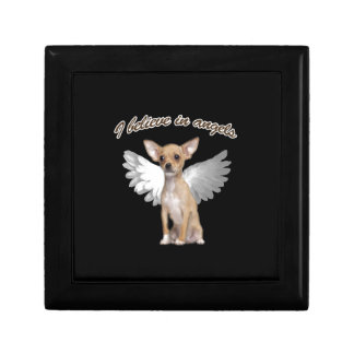 Angel Chihuahua Jewelry Boxes