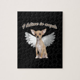 Angel Chihuahua Jigsaw Puzzle