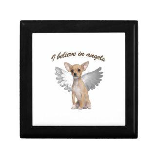 Angel Chihuahua Trinket Box