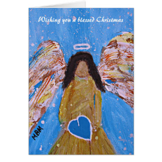 Angel Christmas Card (blank inside)