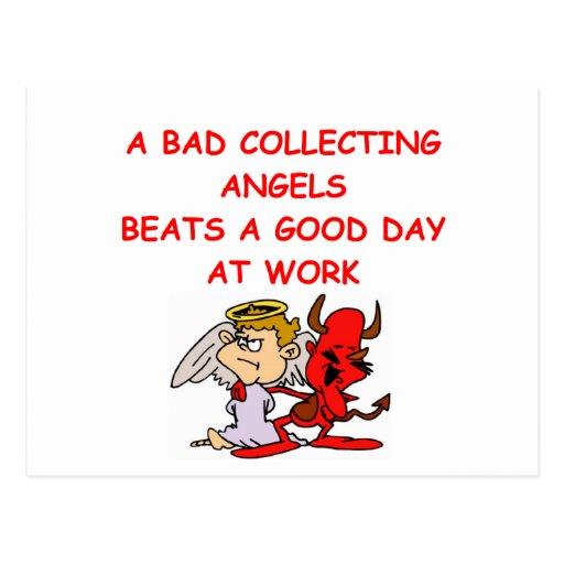 angel collector postcards