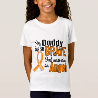 Angel Daddy Leukemia T-Shirt
