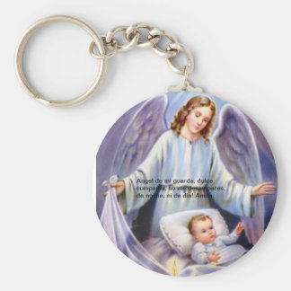 Angel de la guarda Keychain