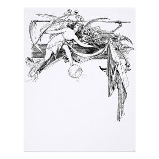 Angel/Death Letterhead