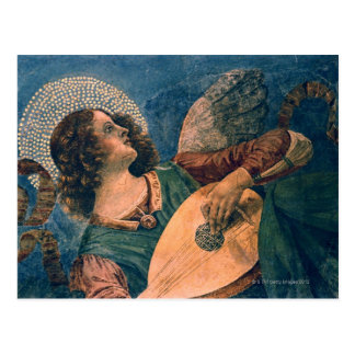 Angel depicted as a musician by Melozzo da Forli Postcard