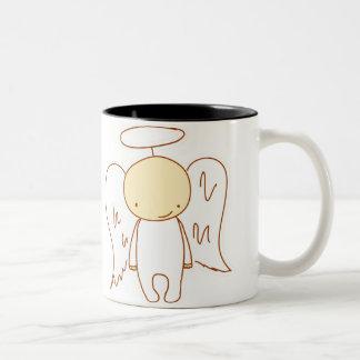 angel/devil Two-Tone coffee mug
