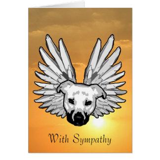 Angel Dog Card