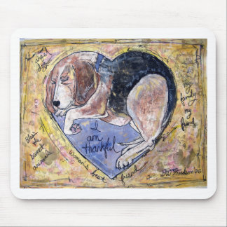 Angel Dog Mouse Pad