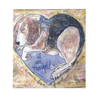 Angel Dog Notepad