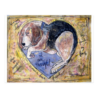 Angel Dog Postcard