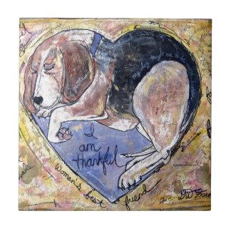 Angel Dog Tile
