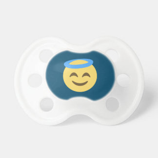 Angel Emoji Pacifier