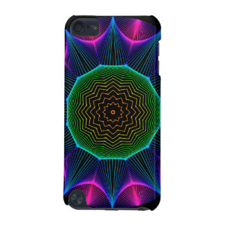 Angel Energy Mandala, Abstract Magenta iPod Touch (5th Generation) Case