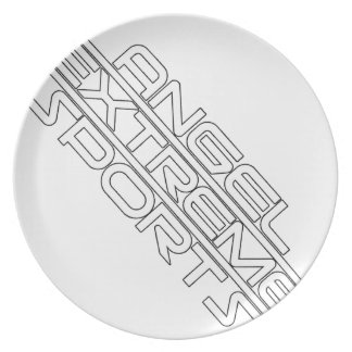 Angel Extreme Sports - AXS - brand - 1 Party Plate