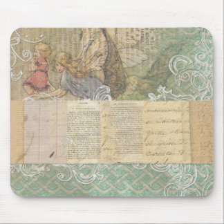 Angel Fairy Collage Mouse Pads